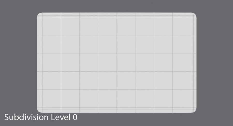 Karta debetowa 01 royalty-free 3d model - Preview no. 13