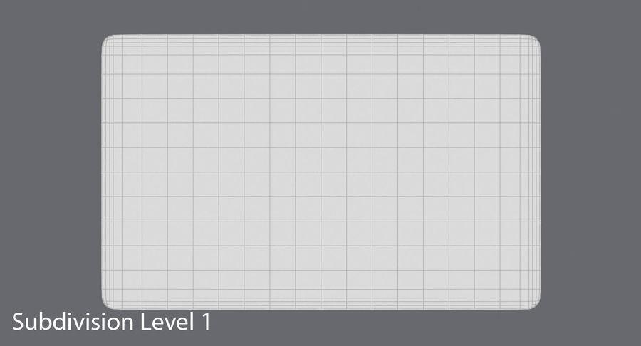 Karta debetowa 01 royalty-free 3d model - Preview no. 16