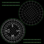 Compass Direction 3d model