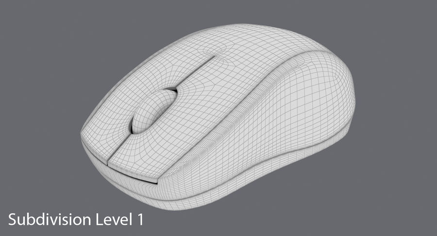 Data mus royalty-free 3d model - Preview no. 15