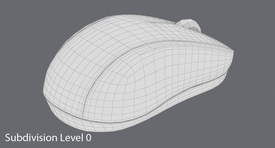 Data mus royalty-free 3d model - Preview no. 14