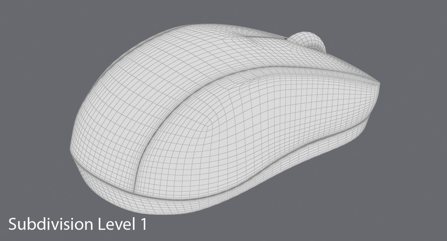 Computer Mouse royalty-free 3d model - Preview no. 1