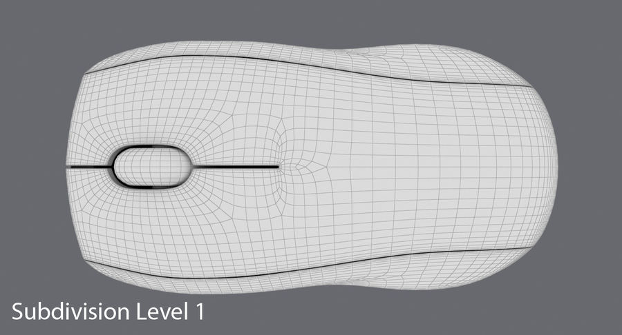 Data mus royalty-free 3d model - Preview no. 16