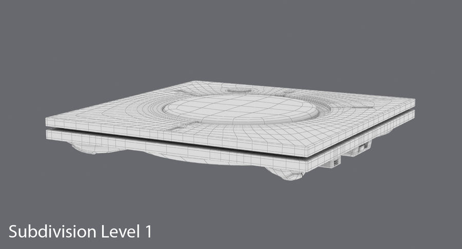Conferentieruimte Luidsprekertelefoon royalty-free 3d model - Preview no. 18