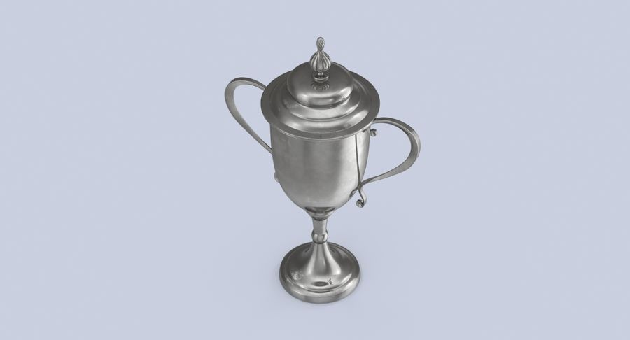 Trophy Cup 02 royalty-free 3d model - Preview no. 5
