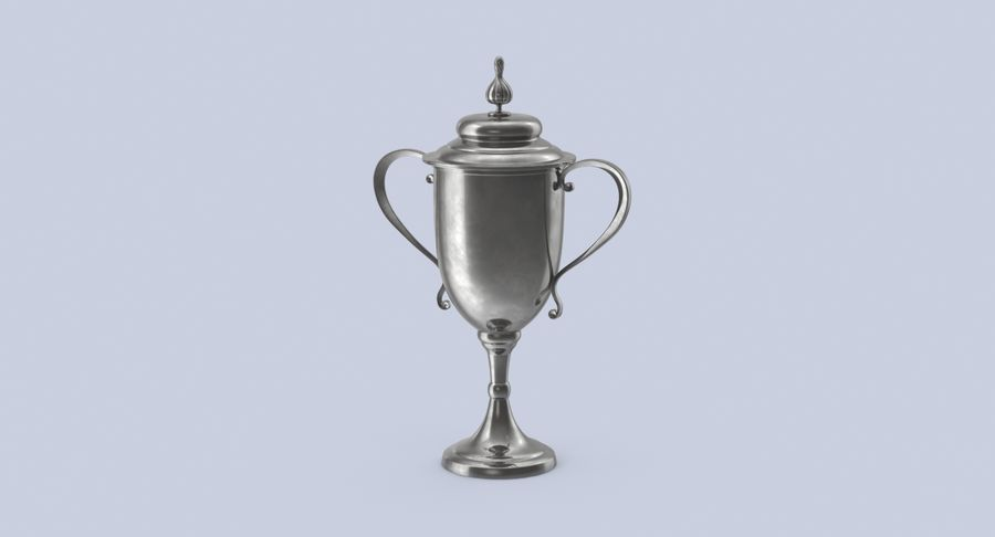 Trophy Cup 02 royalty-free 3d model - Preview no. 11