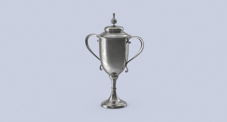 Trophy Cup 02 royalty-free 3d model - Preview no. 3