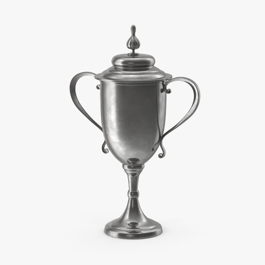 Trophy Cup 02 royalty-free 3d model - Preview no. 1