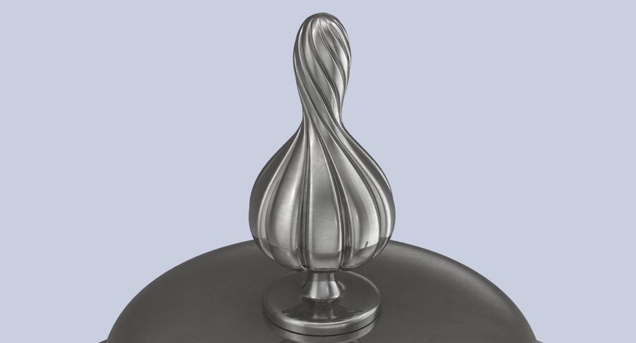 Trophy Cup 02 royalty-free 3d model - Preview no. 8