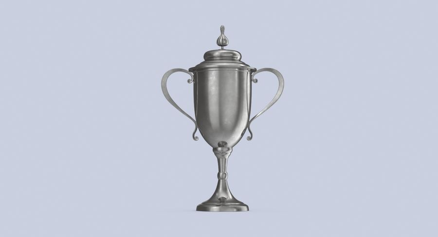 Trophy Cup 02 royalty-free 3d model - Preview no. 6