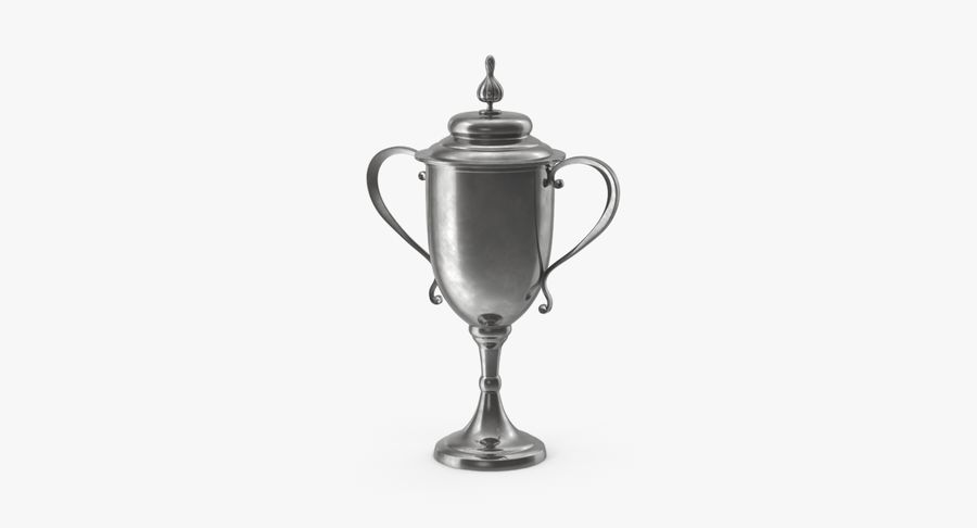 Trophy Cup 02 royalty-free 3d model - Preview no. 2