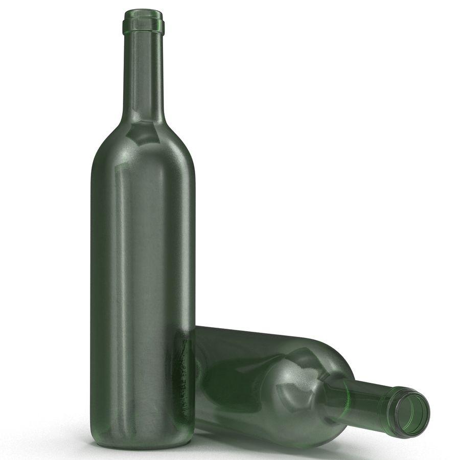 Garrafa de vinho royalty-free 3d model - Preview no. 10