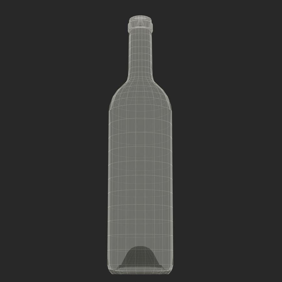 Garrafa de vinho royalty-free 3d model - Preview no. 14