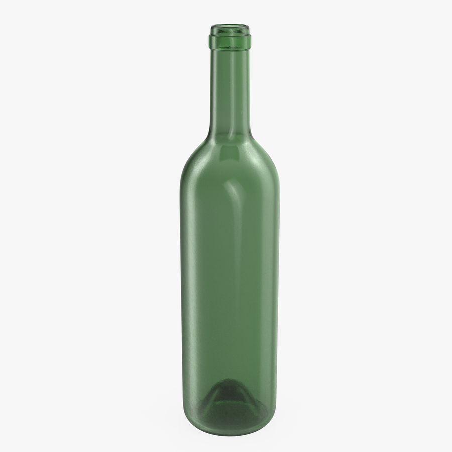 Garrafa de vinho royalty-free 3d model - Preview no. 1