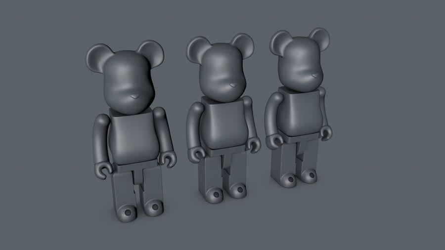 Niedźwiedź royalty-free 3d model - Preview no. 2