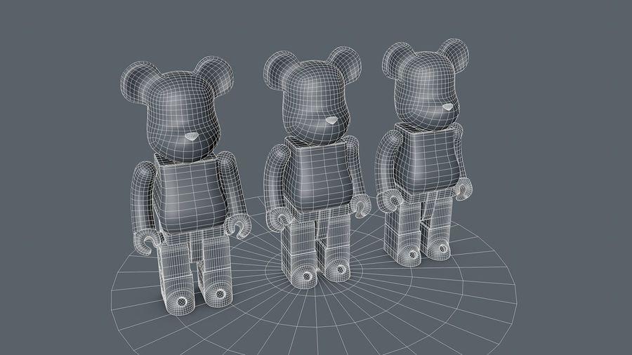 Niedźwiedź royalty-free 3d model - Preview no. 3