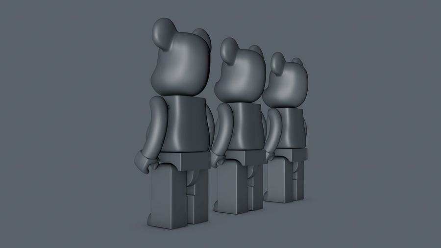 Niedźwiedź royalty-free 3d model - Preview no. 10