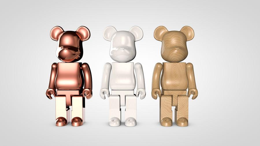 Niedźwiedź royalty-free 3d model - Preview no. 4