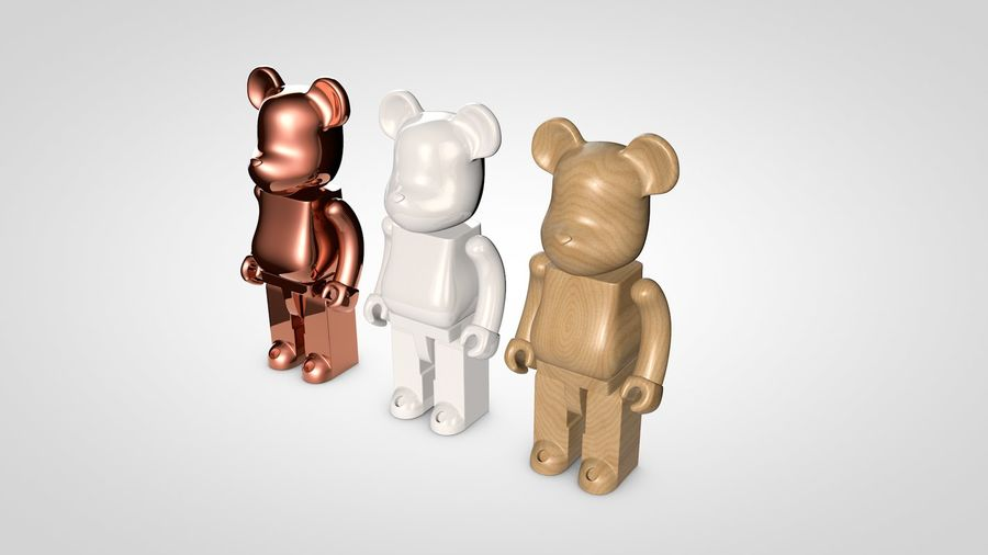 Niedźwiedź royalty-free 3d model - Preview no. 7