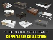 Coffe Table 3D Collection 3d model