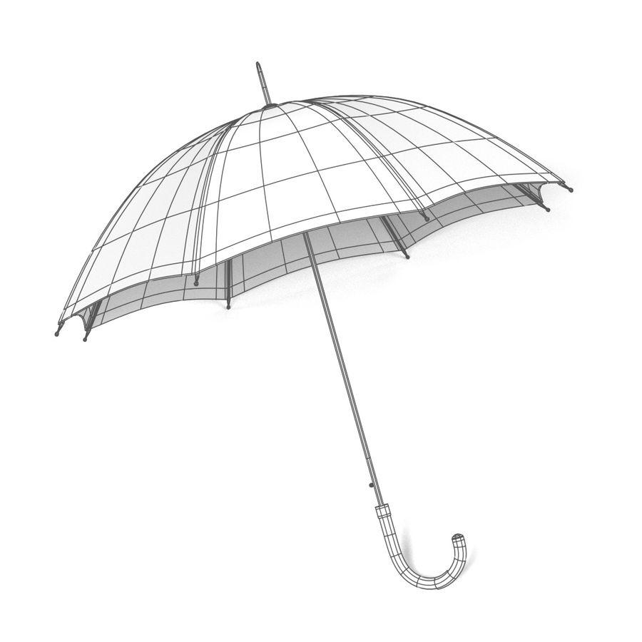 Umbrella Open royalty-free 3d model - Preview no. 9