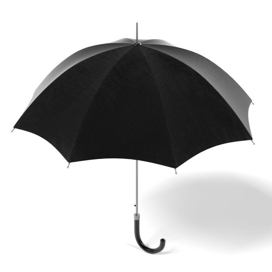 Umbrella Open royalty-free 3d model - Preview no. 3