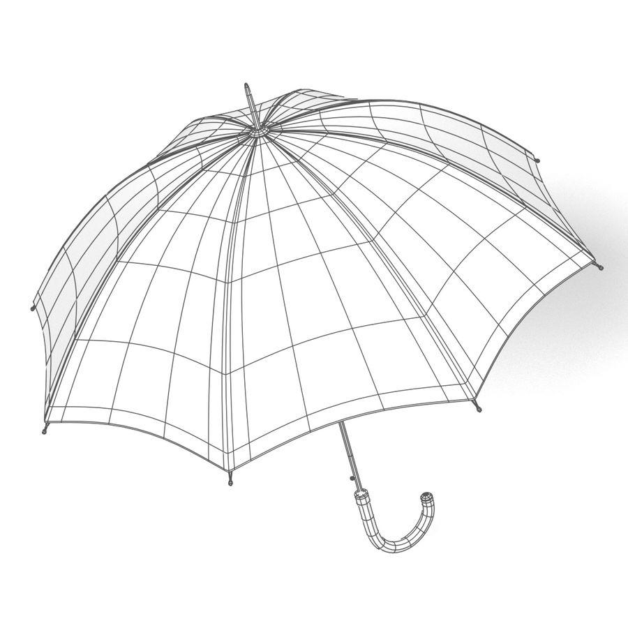 Umbrella Open royalty-free 3d model - Preview no. 10