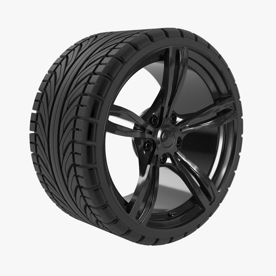 Wheel car royalty-free 3d model - Preview no. 1