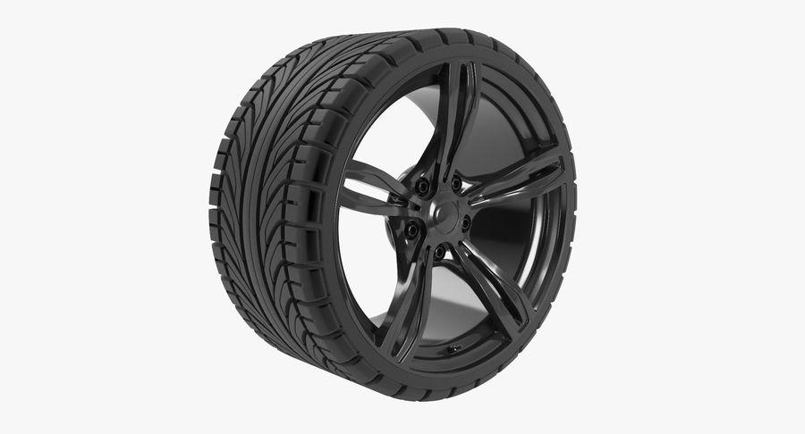 Wheel car royalty-free 3d model - Preview no. 2