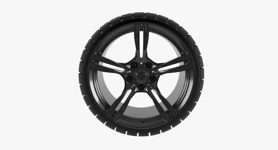 Wheel car royalty-free 3d model - Preview no. 4