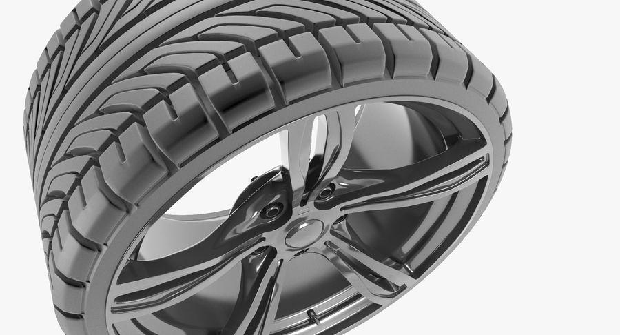 Wheel car royalty-free 3d model - Preview no. 3