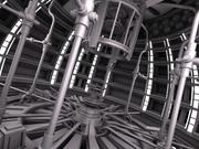 Sci Fi - Nuclear Reactor 3d model
