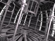 Sci Fi-原子炉 3d model
