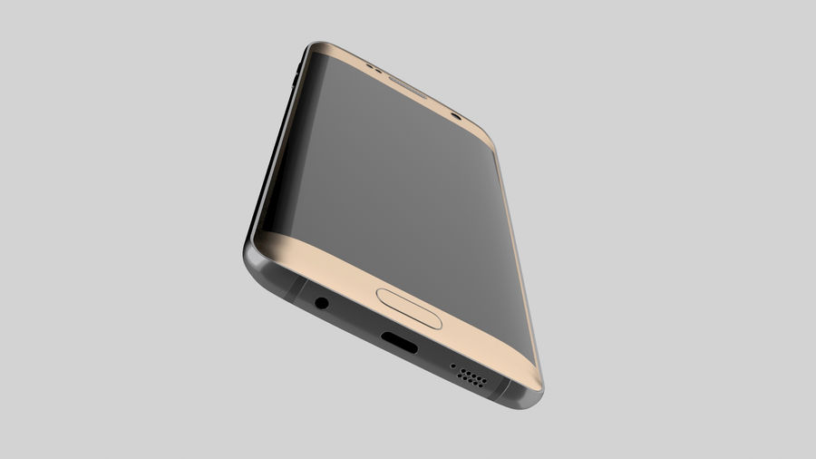 삼성 s7 가장자리 royalty-free 3d model - Preview no. 3