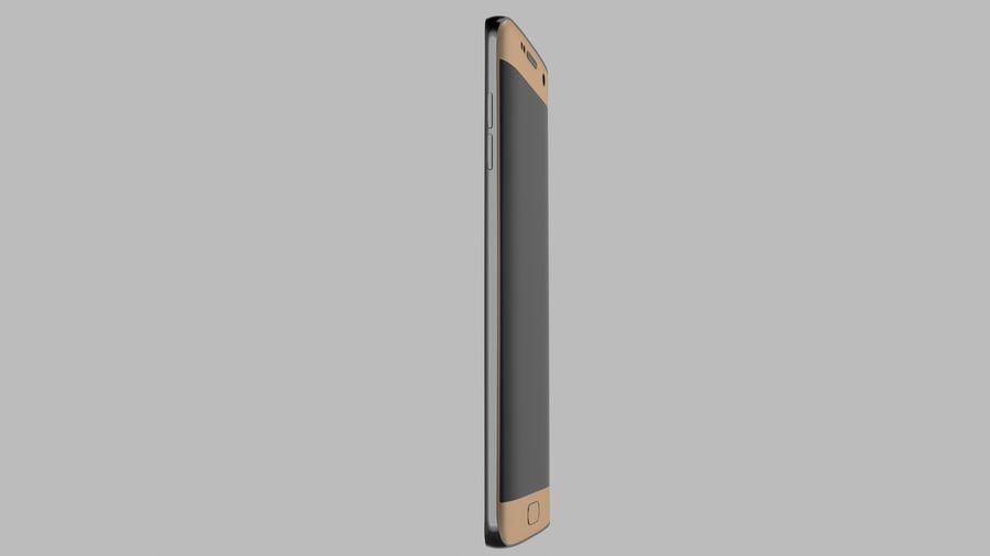 삼성 s7 가장자리 royalty-free 3d model - Preview no. 5