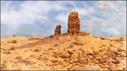 Desert Rock Landscape 3d model