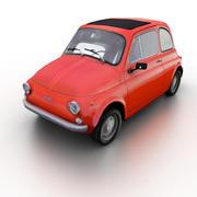 Fiat 500 1960-1975 3d model
