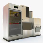 Freezer, ice maker 3d model