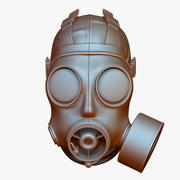 防毒面具S10 SAS 3d model