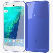 Google Pixel XL verkligen blå 3d model