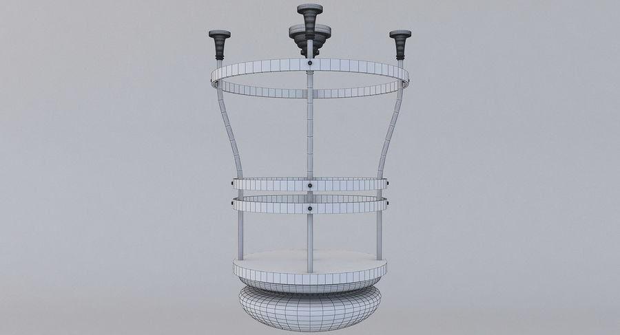 lampa sufitowa royalty-free 3d model - Preview no. 5