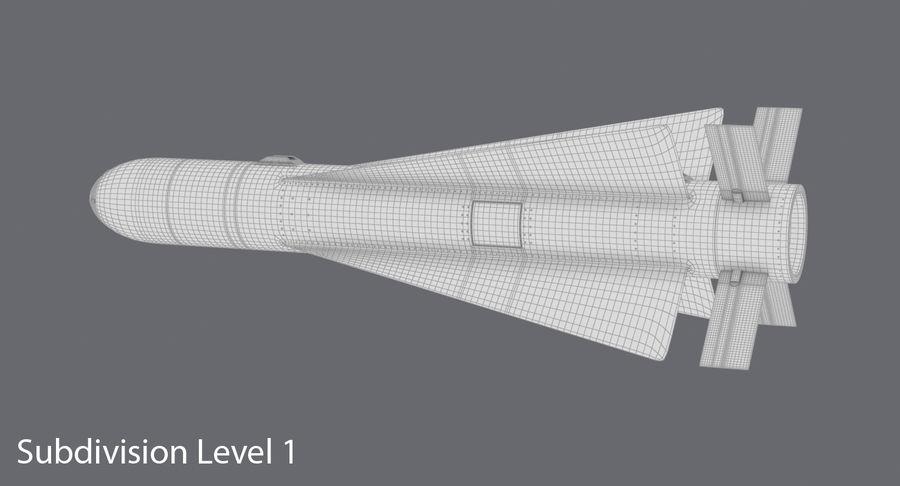 Aircraft Missile AGM 65B Maverick royalty-free 3d model - Preview no. 1