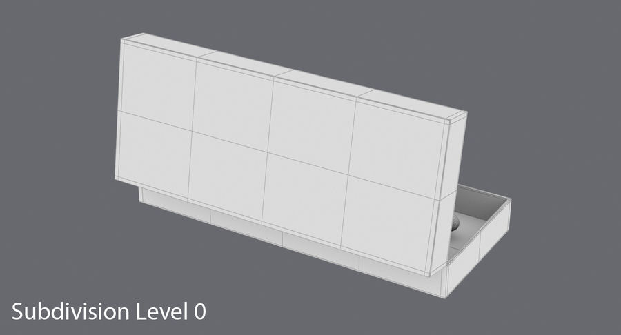 Pen Set royalty-free 3d model - Preview no. 15
