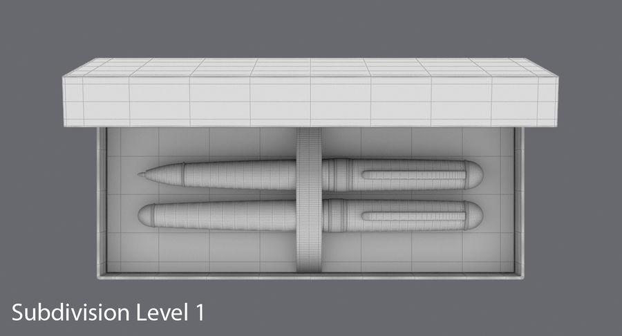 Pen Set royalty-free 3d model - Preview no. 12
