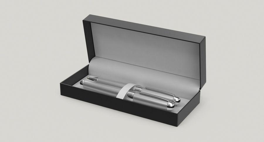 Pen Set royalty-free 3d model - Preview no. 3