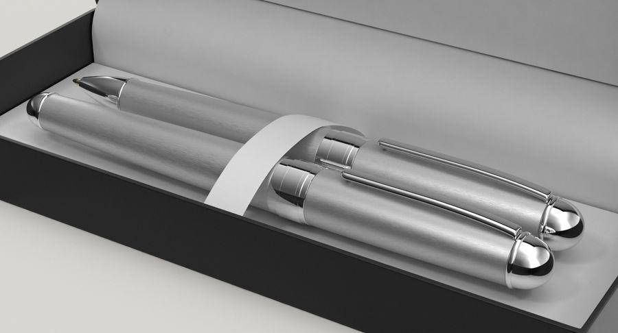 Pen Set royalty-free 3d model - Preview no. 8