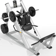 Precor Hack Squat 3d model