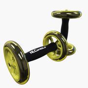 AB Trainer Wheels 3d model