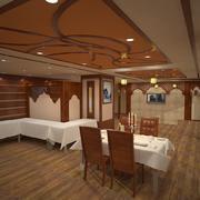 Resturant interiör 3d model