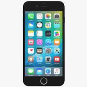 애플 아이폰 7 플러스 블랙 3d model